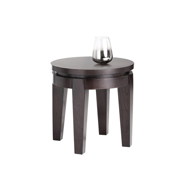 Asia Round End Table - The Home Workshop - Home Furniture - Office Furniture