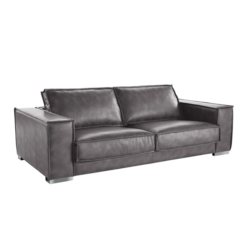 Baretto Sofa Nobility Grey - The Home Workshop - Home Furniture - Office Furniture