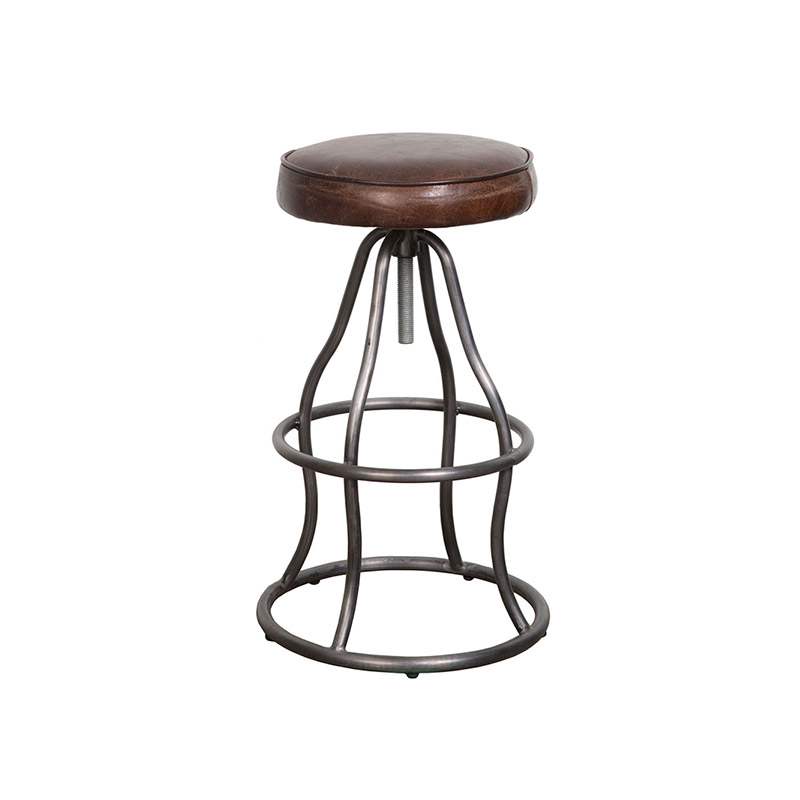 Bowie Bar Stool Vintage Brown - The Home Workshop - Home Furniture - Office Furniture
