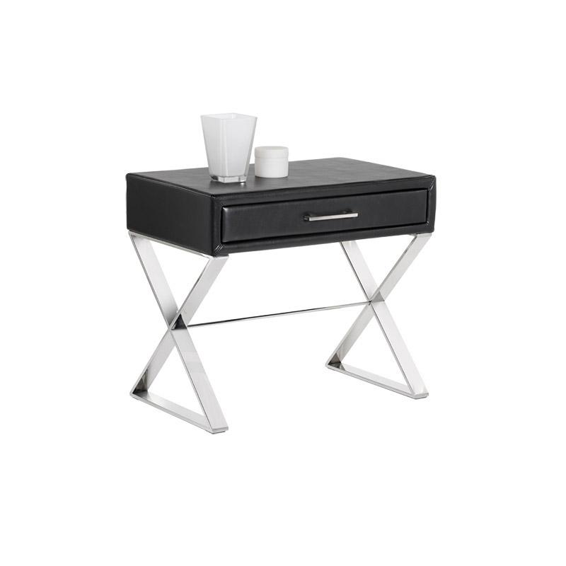 Casa End Table Large Black - The Home Workshop - Home Furniture - Office Furniture
