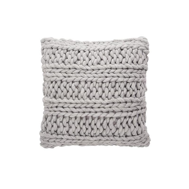 Chunky Cushion Soft Grey - The Home Workshop - Home Furniture - Office Furniture