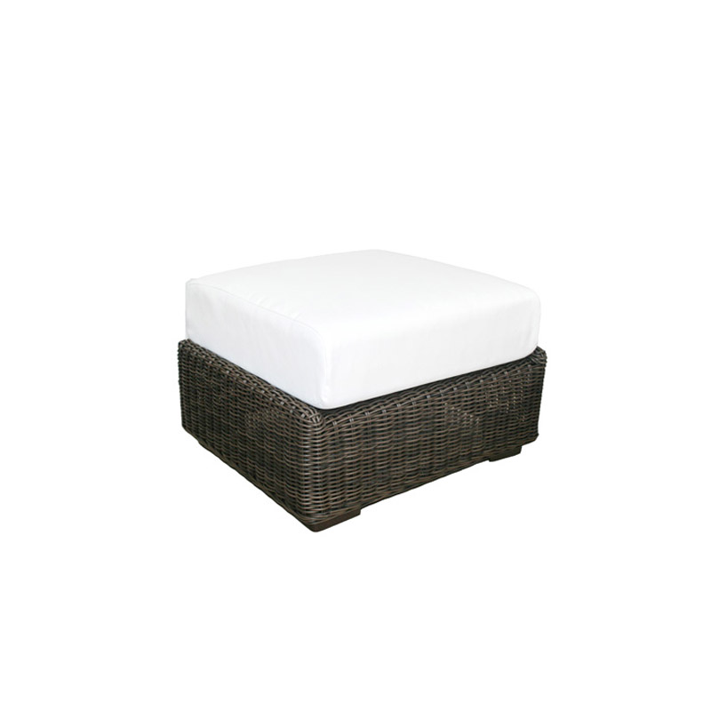 El Nido Ottoman w/ Cushion - The Home Workshop - Home Furniture - Office Furniture