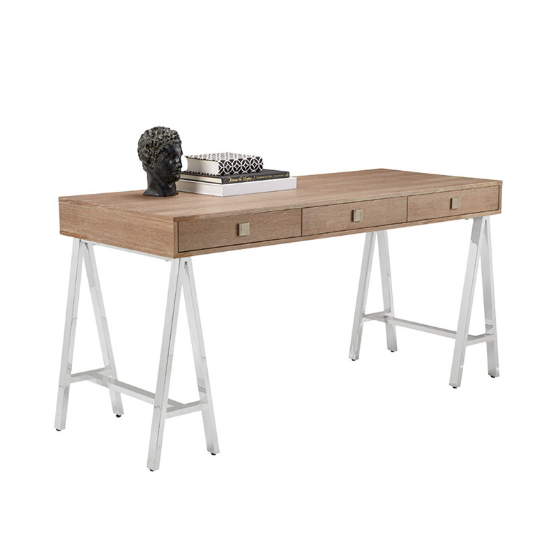 Embassy Desk Driftwood - The Home Workshop - Home Furniture - Office Furniture