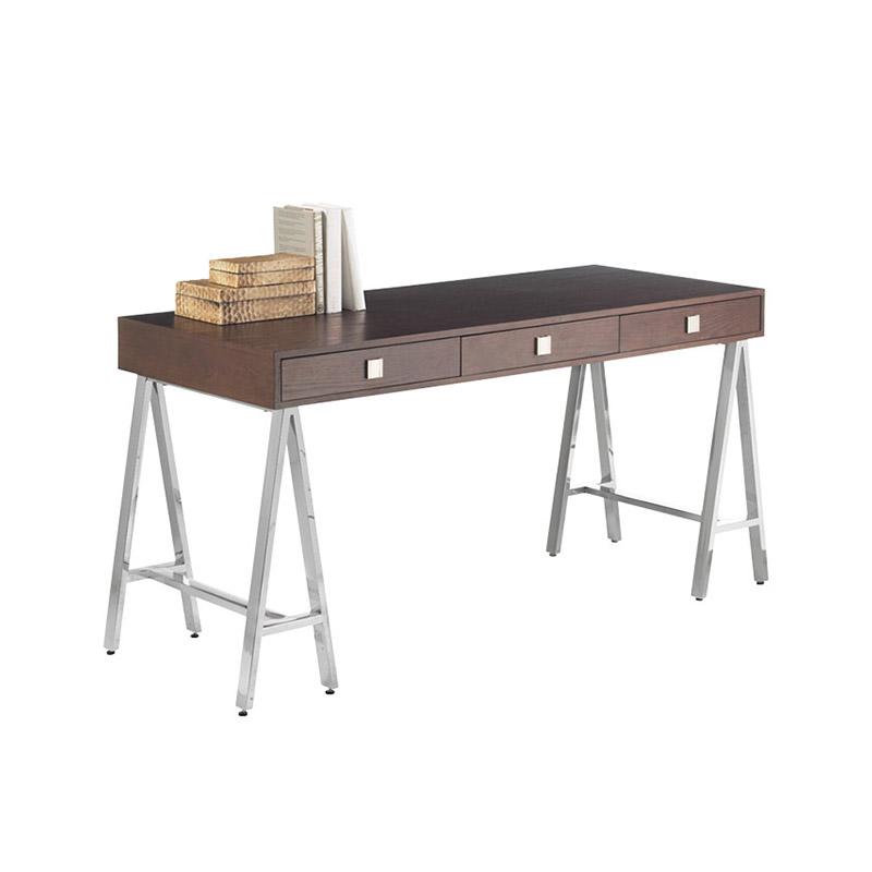 Embassy Desk Espresso - The Home Workshop - Home Furniture - Office Furniture