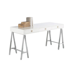 Embassy Desk White - The Home Workshop - Home Furniture - Office Furniture