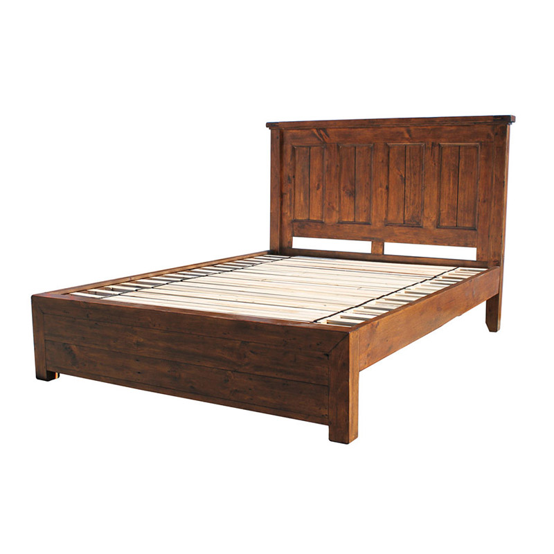 Irish Coast Panel Platform Bed - The Home Workshop - Home Furniture - Office Furniture