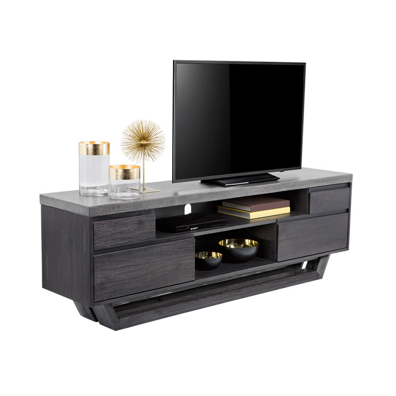 Langley Media Stand - The Home Workshop - Home Furniture - Office Furniture