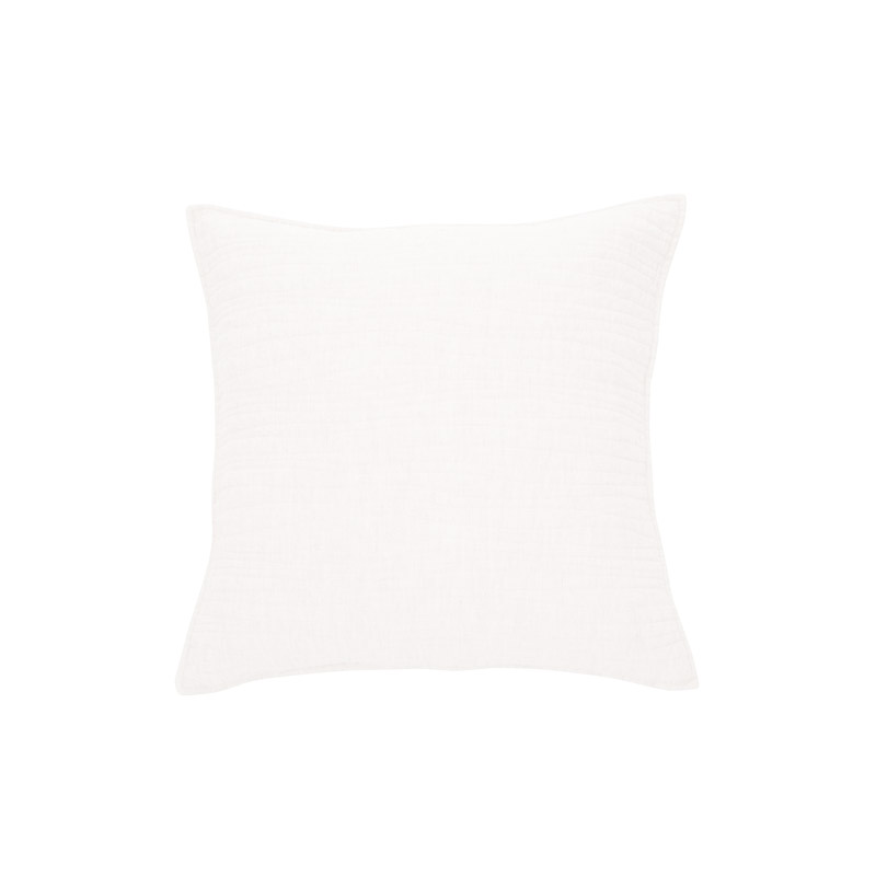Lino Cushion White - The Home Workshop - Home Furniture - Office Furniture