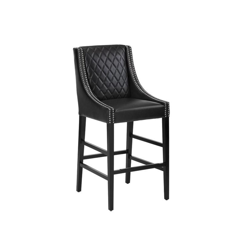Malabar Barstool Black - The Home Workshop - Home Furniture - Office Furniture