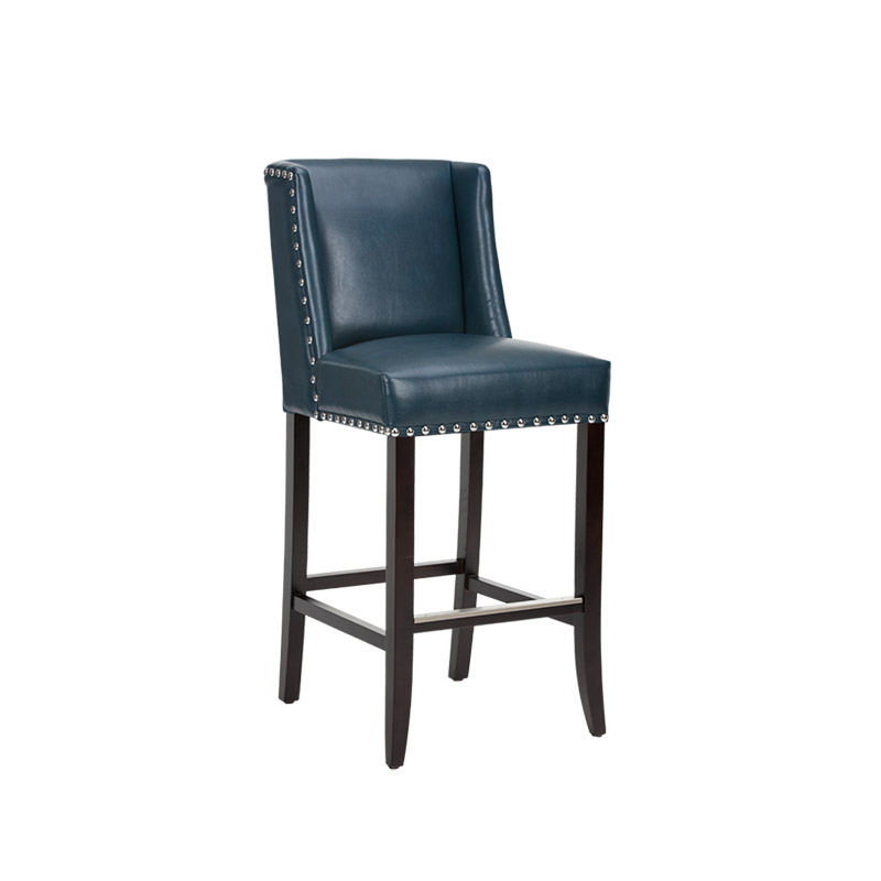 Marlin Barstool Nobility Blue - The Home Workshop - Home Furniture - Office Furniture