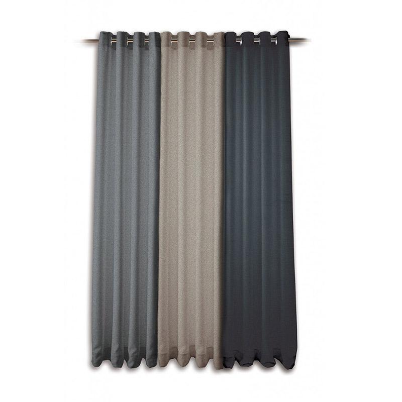 Modern Tweed Curtain - The Home Workshop - Home Furniture - Office Furniture