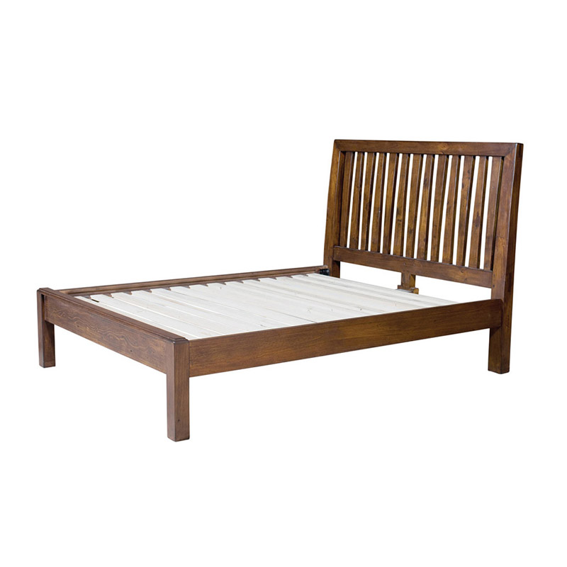Post & Rail Platform Bed - The Home Workshop - Home Furniture - Office Furniture