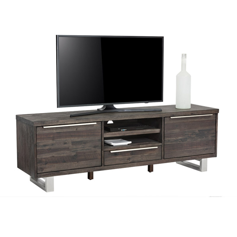 Rhodes Media Stand Espresso - The Home Workshop - Home Furniture - Office Furniture