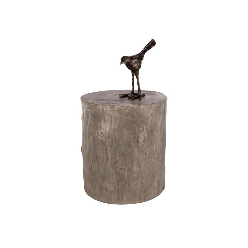 Tree End Table Grey - The Home Workshop - Home Furniture - Office Furniture