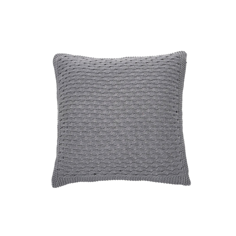 Tricot Cushion Grey - The Home Workshop - Home Furniture - Office Furniture